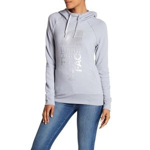 The North Face Front Graphic Logo Print Hoodie